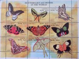 PAPILLONS 1997 - FEUILLET NEUF ** - YT 316/24 - Erythrée