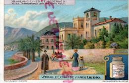 CHROMO LIEBIG - VILLAS ANCIENNES-FRANCE COTE D' AZUR VILLA - FRAY BENTOS-URUGUAY-COLON ARGENTINE - Liebig