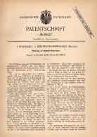 Original Patentschrift - J. Standaert In Beernem - Bloemendaele , 1886 , Steuerung Für Dampfmaschine !!! - Historische Dokumente