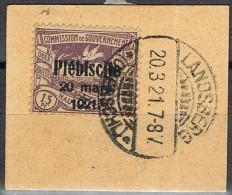 Plebiscite HAUTE SILESIE 1921, 15 Pf,  Yvert Num 49 º - Germany