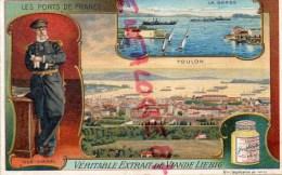 CHROMO LIEBIG -LES PORTS DE FRANCE - TOULON LA DARSE- FRAY BENTOS-URUGUAY-COLON ARGENTINE - Liebig