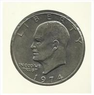 U.S.A. - 1 Dollar - 1974 - Used - Emissioni Federali