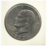 U.S.A. - 1 Dollar - 1977 D - Used - Federal Issues