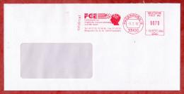 Infobrief, Francotyp-Postalia F78-4842, FGE Fachzentrum, 70 Pfg, Paderborn 1997 (49443) - Covers & Documents