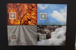 ANNEE 1994  4 CARTES POSTALES  PAYSAGES MK 129 - Maximumkarten (MC)