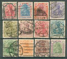 Collection ALLEMAGNE ; GERMANY ; 1920-1922 ; Lot 011 ; Oblitéré - Oblitérés