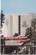Monorail Ride At Emerald Hotel Near Disneyland Anaheim CA California, C1970s Vintage Postcard - Disneyland