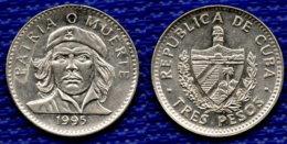 CUBA 3 Pesos 1995. - Cuba