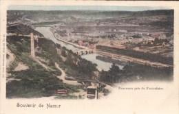 Namur Souvenir De Namur Panorama Pris Du Funiculaire ( Nels ) - Namur