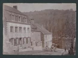 Fraipont -   Rare  Photo - Epreuve - Villa  des Roches - Anim�e. 2 scans.