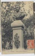 N° 147 Seul Sur CARTE POSTALE De ROUEN - Buste De Guy De Maupassant - France