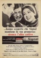 # TOOTHPASTE GIBBS SIGNAL ITALY 1950s Advert Pubblicità Publicitè Reklame Dentifricio Zahnpaste Oral Dental Healthcare - Attrezzature Mediche E Dentistiche