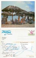 Playa Jibacoa, Habana Havana Cuba Postcard Posted 1995 Stamp - Cuba