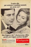 # TOOTHPASTE COLGATE PALMOLIVE 1950s Advert Pubblicità Publicitè Reklame Dentifricio Zahnpaste Oral Dental Healthcare - Medical & Dental Equipment