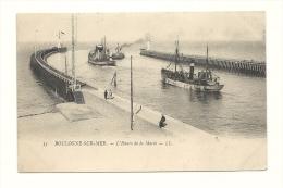 Cp, 62, Boulogne-sur-Mer, L'Heure De La Marée - Boulogne Sur Mer