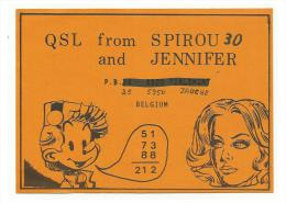 BELGIUM CB - Spirou & Jennifer - 1980 - CB-Funk