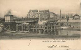 Dendermonde- Termonde- Le Pont De L' Escaut (Edit. Legat, Grand Bazar Parisien) - Dendermonde