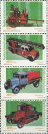 DB0575 Equatorial Guinea 2001 Fire 4v MNH - Guinée Equatoriale