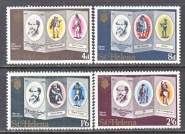 ST. HELENA ISLAND  232-5  **  AUTHORS  BOOKS - Saint Helena Island
