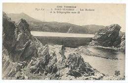 CPA -PORT VENDRES -LES ROCHERS ET LA TELEGRAPHIE SANS FILS -Pyrénées Orientales (66) - - Port Vendres