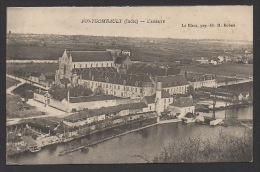 DF / 36 INDRE / FONTGOMBAULT / L' ABBAYE / VUE GENERALE AERIENNE - France