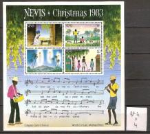 Nevis BF 4  * Côte 4 € - Central America