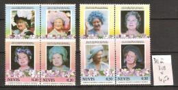 Nevis 311 à 318 *  Côte 4.50 € - Central America