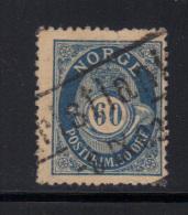 NORVEGE- Y&T N°57 A- Oblitéré- Cote 20 Euros - Used Stamps