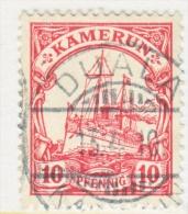 CAMEROUN  22  (o)     DUALA  Cd.  Wmk. - Colony: Cameroun