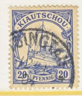 KIAUCHAU  13  (o) - Colony: Kiauchau
