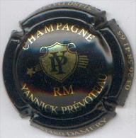 CAPSULE-CHAMPAGNE PREVOTEAU Yannick N°09 Noir & Or RM - Champagnerdeckel