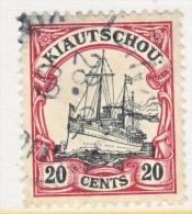 KIAUCHAU  37   (o) - Colonie: Kiautchou