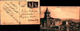 4)  Cartolina Di San Fratello - Chiesa S. Nicolò Dopo La Frana Del 8 Gennaio 1922  Viaggiata Il 23/10/1932 - Messina