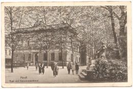 Neuss Post Und Schwanndenkmal 1918 Feldpost - Neuss