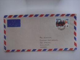 Uganda 1993 Commercial Cover To Kampala Nice Stamp Pope John Paul II #3 - Uganda (1962-...)