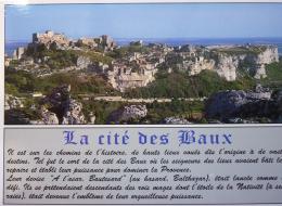 LES BAUX DE PROVENCE Citée Médiévale Au Coeur Des Alpilles - Ed Ajax Monaco - Cp Non écrite Bon état - Les-Baux-de-Provence