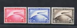 LOT 495 - ALLEMAGNE (1928-31) P.A 35 Et 37 *charnière Et N° 36 ** Luxe - Cote 350 € ZEPPELIN- DIRIGEABLE - Luftpost