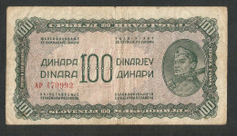 [NC] YUGOSLAVIA / JUGOSLAVIA - 100 DINARA (1944) - Jugoslavia