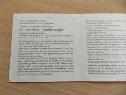 Doodsprentje Robert Vandenberghe Veurne 2/7/1927 Oostduinkerke 17/3/1999 ( Denise Braem) - Religion & Esotericism