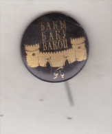 USSR Azerbaidjan Old Pin Badge  - Cities - Baku - Cities