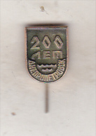 USSR Ukraina Old Pin Badge  - Cities - Dnipropetrovsk 200th Anniversary - Cities