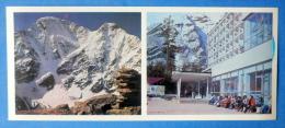 Donguzorun And Nakratau Peaks - Elbrus - Tourist Base Terskol - Mountaneering - Alpinism - 1980 - Russia USSR - Unused - Alpinisme