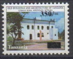 Tanzania 2004 Mi. 4215 Old Buildings Architecture Overprinted Surcharged 350 - 200 Sh RARE MNH** - Tanzanie (1964-...)