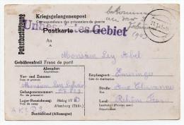 1943 - KRIEGSGEFANGENENPOST (CORRESPONDANCE DE PRISONNIER DE GUERRE) Pour EMERINGES (RHONE) - 2. Weltkrieg 1939-1945
