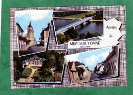 Amitiés De Misy-sur-Yonne (église Pont Château Rue) - Autres Communes