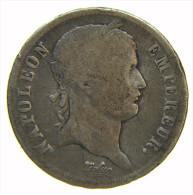 FRANCIA - FRANCE - 2 FRANCS - NAPOLEON (1813) D - LYON -  ARGENT SILVER - I. 2 Franchi