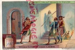 CHROMO LIEBIG - MACBETH 2- MACDUFF DECOUVRE LE REGICIDE - FRAY BENTOS URUGUAY- COLON ARGENTINE - Liebig