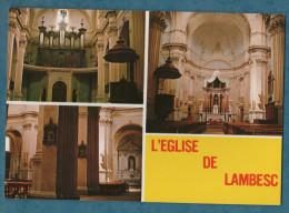 13 - LAMBESC  En Provence - Non écrite - L´intérieur De L´église -mutlivues - 10.5x15 - ERTAY - Lambesc