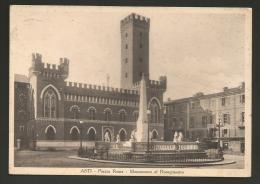 Asti - Città - Piazza Roma - Formato Grande - Viaggiata - Asti