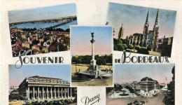 BORDEAUX - GIRONDE - (33) -  CPSM MULTIVUES DE 1958. - Bordeaux